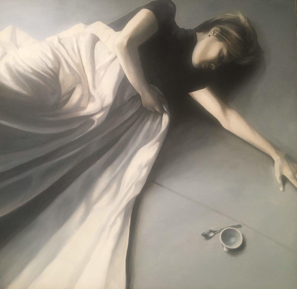 """""""Awakening"""" 2018, oil on canvas cm. 100x120"""