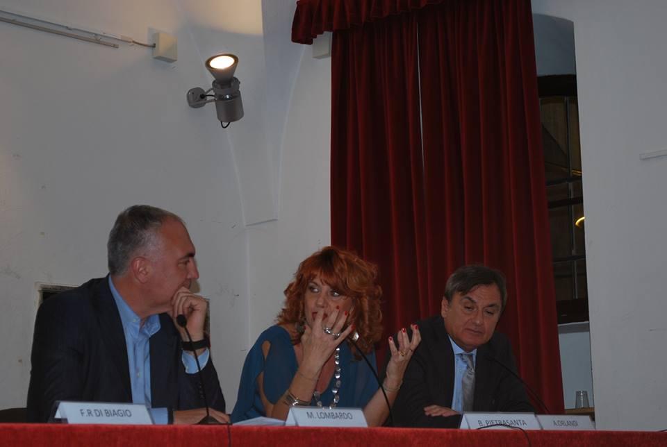 All'Umanitaria con Dott. Orlando e A.Lombardo