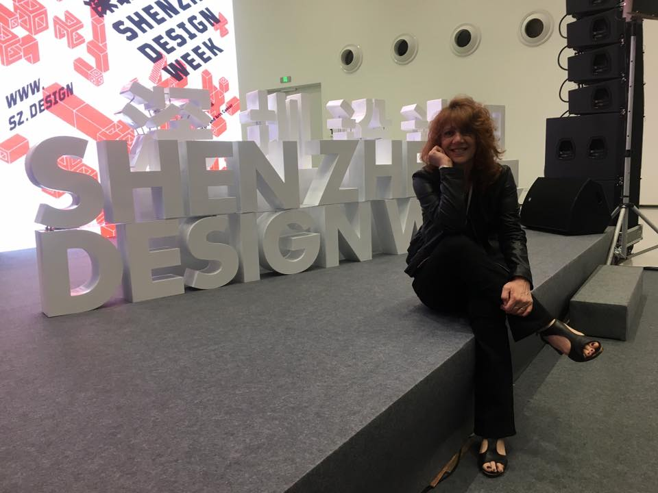 Nella Giuria dello Shenzhen Design International Award, 2018