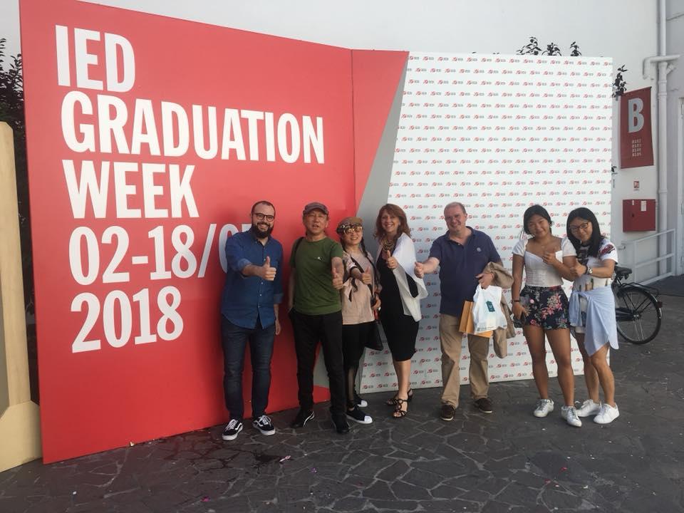 Delegazione Xiaoyan school Shenzhen allo IED