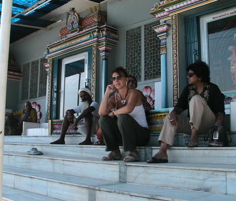 Con Rekha Modi ad Haridware, India 2007