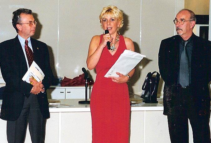 Con Ass. Cultura Verga e Antonio Cagnazzi, 2001