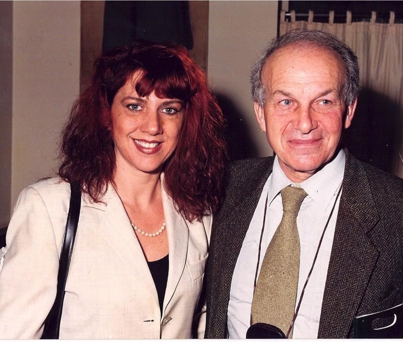 Con Fausto Bertinotti