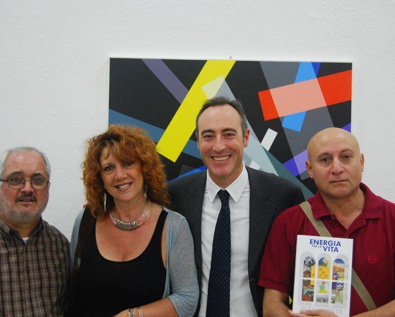 Con A. Mazzotta, G. Gallera, Caputo di Roccanova alla Permanente, 2013