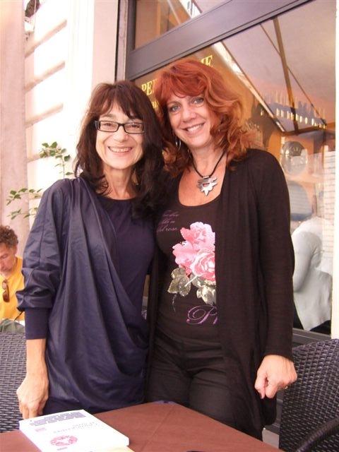 Con Patrizia Raveggi A Roma