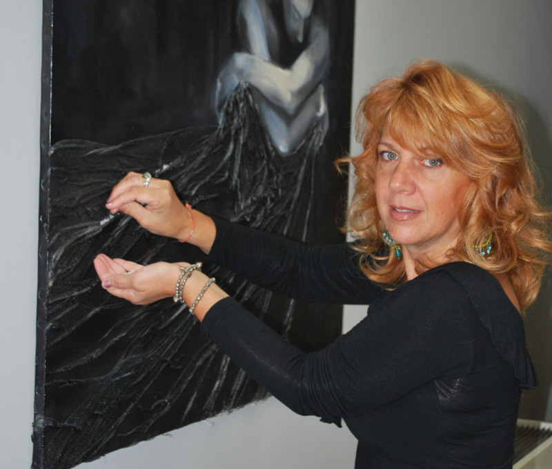 """""""Sale"""" Spazio Madonnina, Preparazione della mostra """"Sale"""" allo Spazio Madonnina per la giornata del Contemporaneo"""