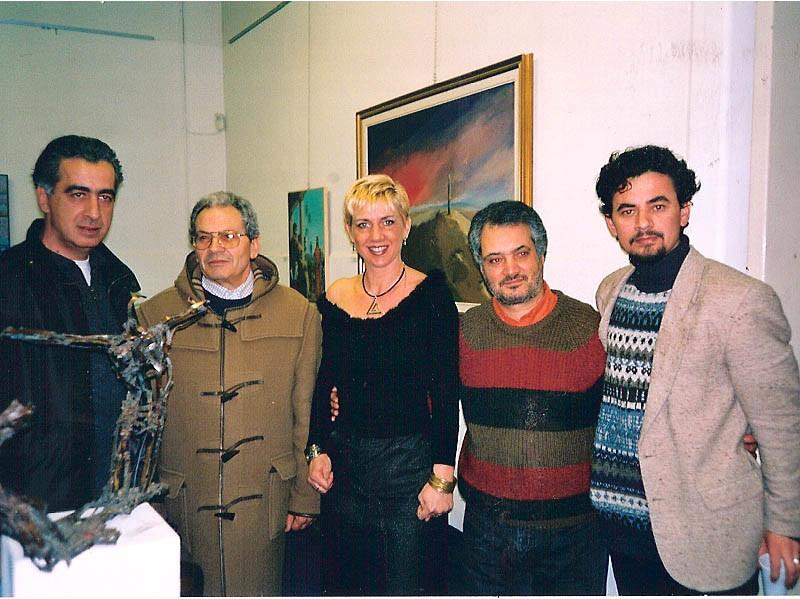 Inaug. Mostra Sassetti Cultura Con Giovanni Blandino, Alfredo Mazzotta e Aghim Muka