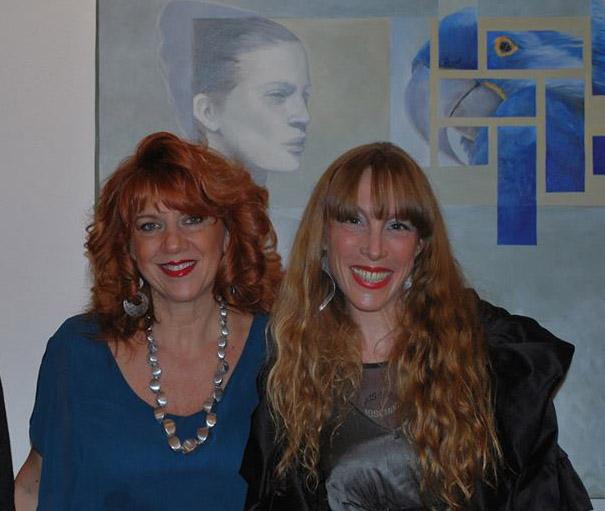 Con Francesca Di Biagio