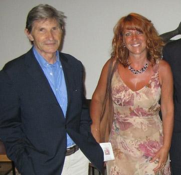 Con Alberto Ghinzani