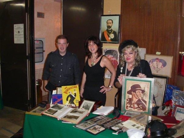 Con A. Dalle Rive e l'artista romana Gianna Paola Cuneo
