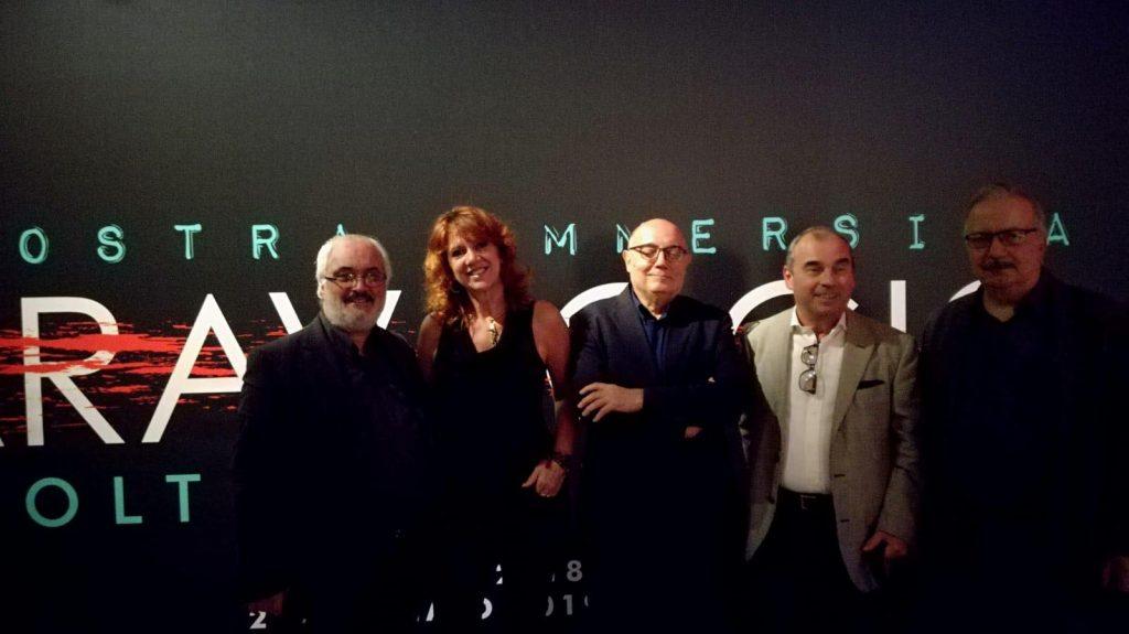 Con il Vice Presidente del Museo La permanente Cesare Cerea, A. Mazzotta, C. Catiri e P. Di Gennaro 2018