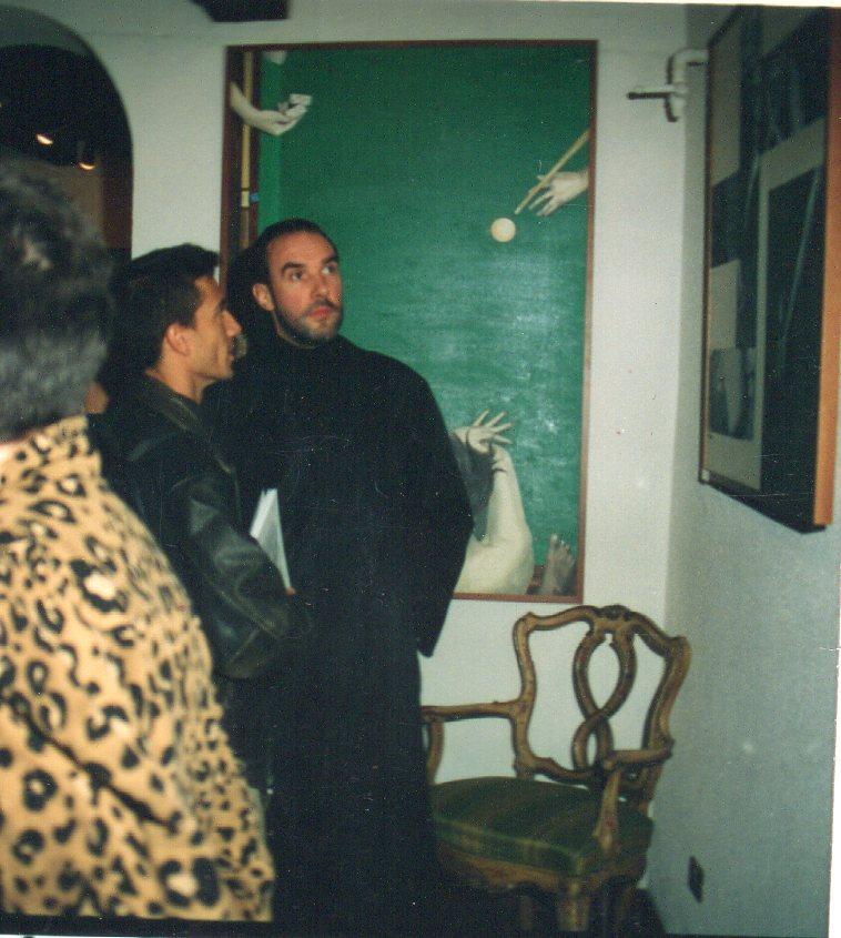 """Diego Dalla Palma inaugura""""Strade, bivi e deviazioni"""", 1993"""