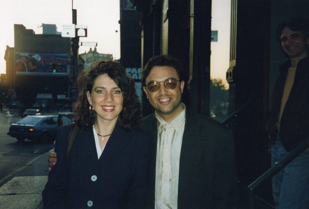 Con Harry Stendhal, New York, 1994