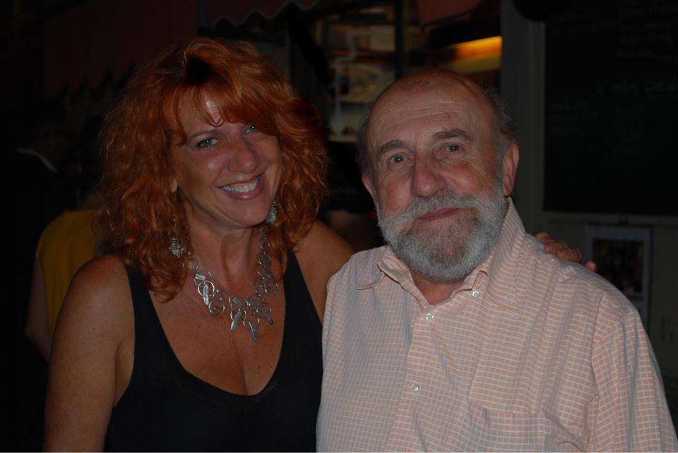 Con Enrico Beruschi