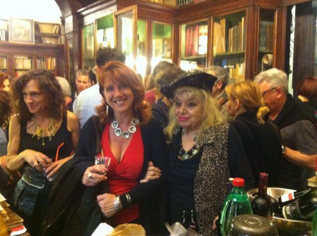 Con Gianna Paola Cuneo e Valentina La Rocca alla Libreria Cascianelli