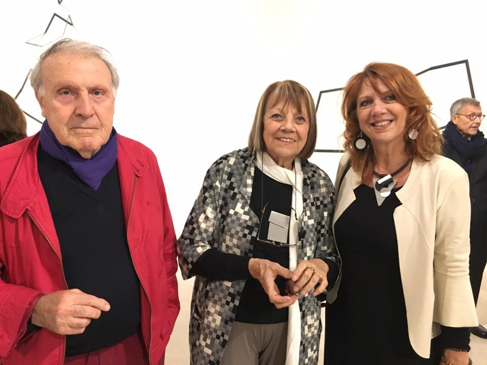 Con Grazia Varisco e Italo Antico alla Triennale
