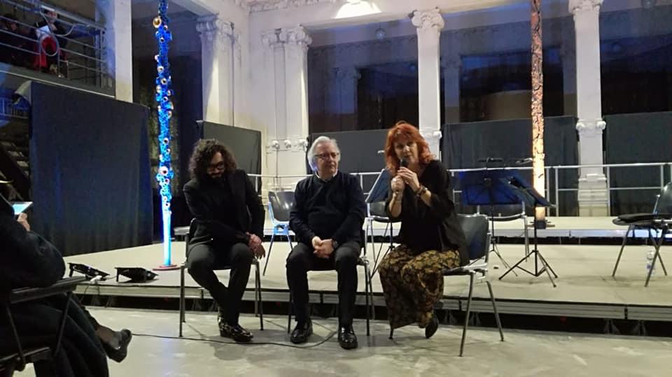 Con Pino Di Gennaro e Diego Pasqualin alla Rassegna Between